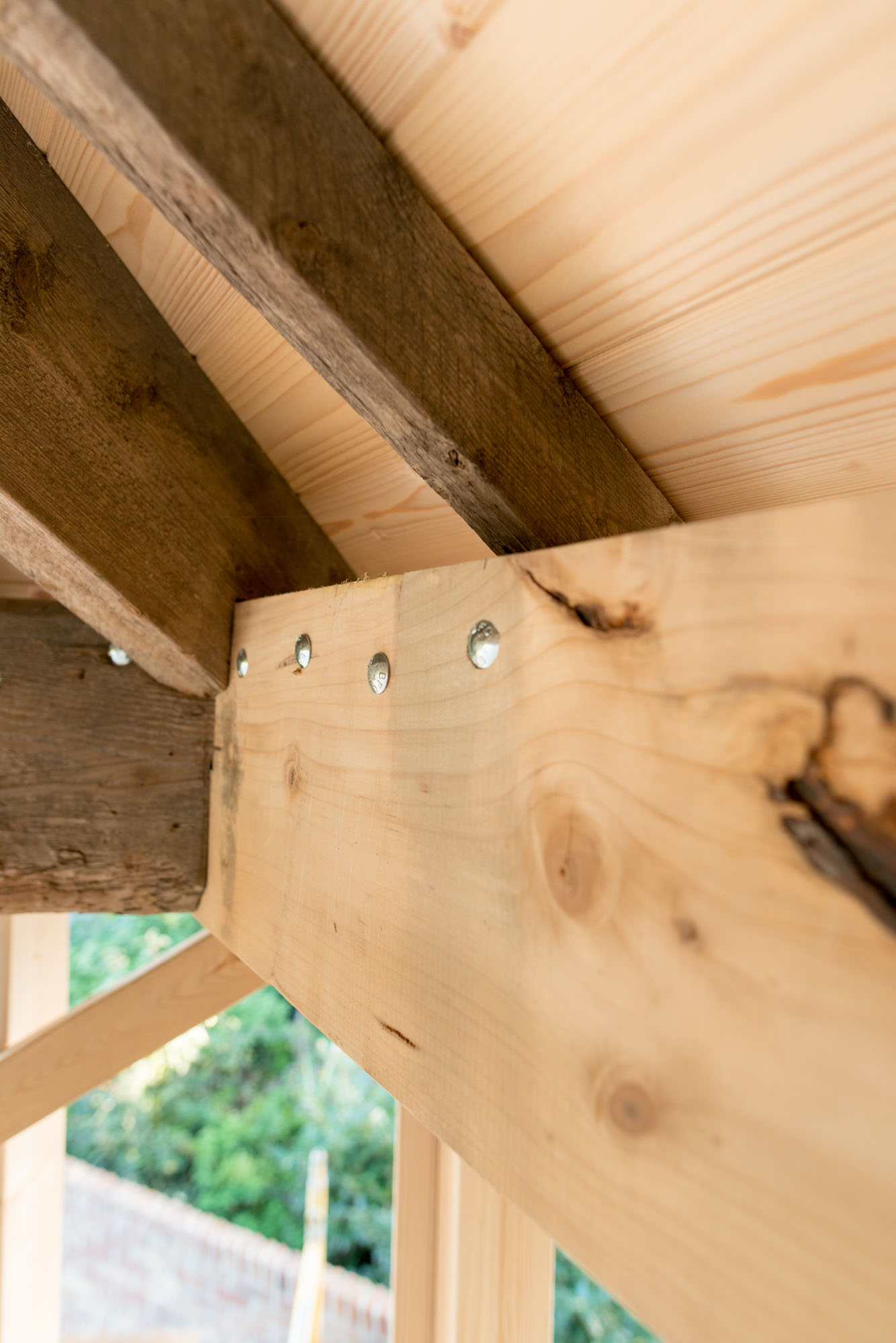 Nieuw houtwerk zorgt voor een oorspronkelijk geheel